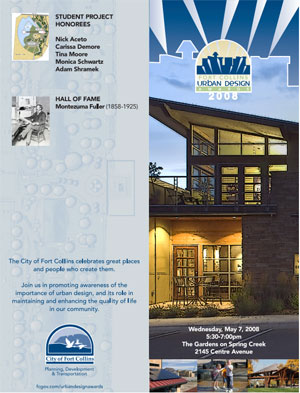2008 City of Fort Collins Urban Design Award – Spring Canyon Community Park, Fort Collins